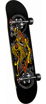Powell Golden Dragon Diamond Dragon 3 Complete Skateboard - 7.5 x 31.375