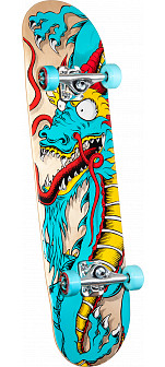 Powell Golden Dragon Cab Art Dragon 2 Complete - 8 x 32.125