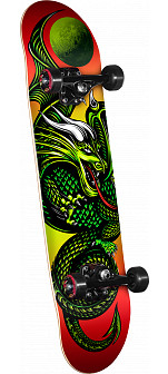 Powell Golden Dragon Knight Dragon II Complete Skateboard - 7 x 28