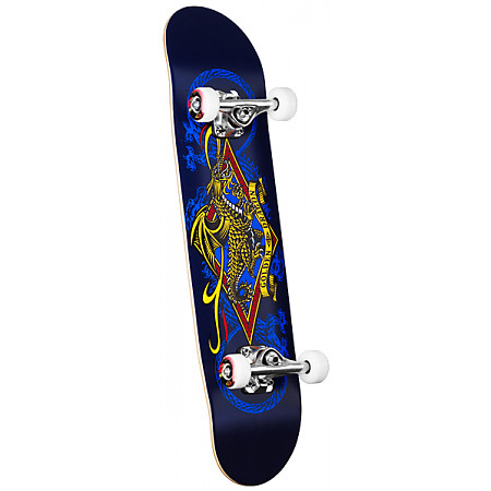 Powell Golden Dragon Diamond Dragon Complete Skateboard - 7.5 x 31.375