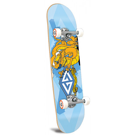Powell Golden Dragon Twisted Dragon Complete Skateboard ...